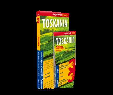 Toskania (przewodnik+atlas+mapa)