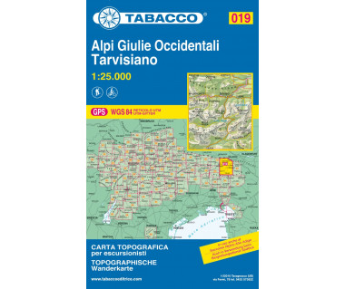 TAB019 Alpi Giulie Occidentali / Tarvisiano