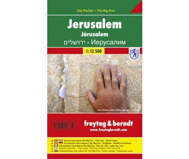 Jerusalem plan foliowany
