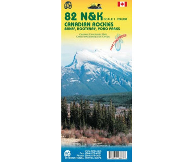 Canadian Rockies 82N&K Banff, Kootenay, Yoho Parks