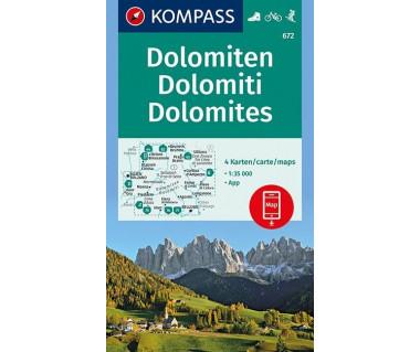 K 672 Dolomiten/Dolomites/Dolomiti