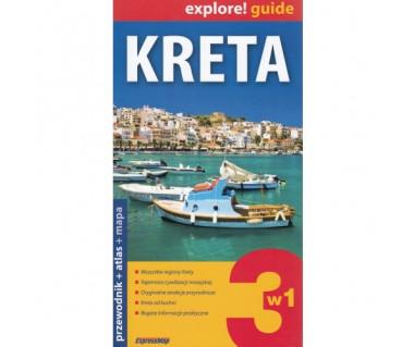 Kreta (przewodnik+atlas+mapa)