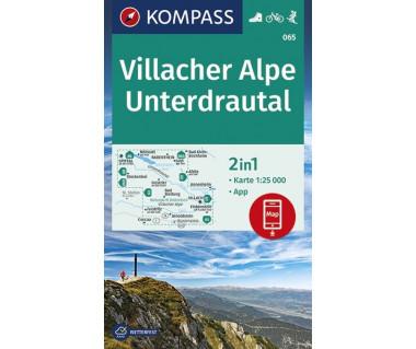K 065 Villacher Alpe, Unterdrautal