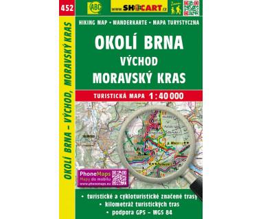 CT40 452 Okoli Brna vychod, Moravsky Kras