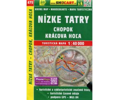 CT40 475 Nizke Tatry, Chopok, Kralova Hola