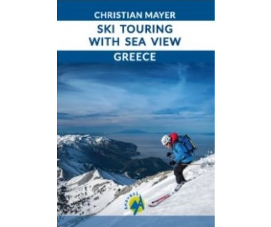 Greece. Ski touring with sea view