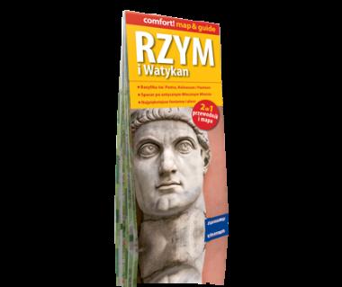 Rzym i Watykan 2 w 1 (przewodnik i mapa)