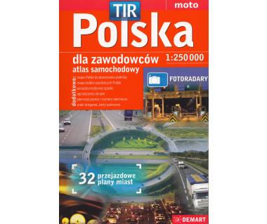 Polska atlas samochodowy dla zawodowców