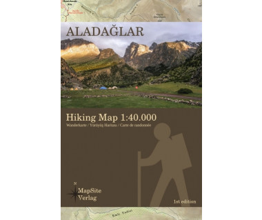 Aladaglar hiking map
