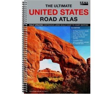 USA Ultimate road atlas NP