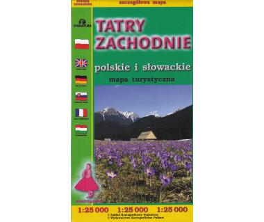 Tatry Zachodnie (słowackie i polskie)