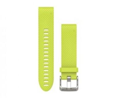 Pasek do zegarka Fenix 5S 20mm QuickFit Yellow Silicone