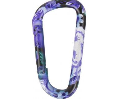 Karabinek Munkees Flower purple 6x60mm 3325