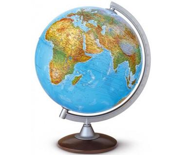 Globus fizyczno-polityczny Atlantis 30 cm (podświetlany)