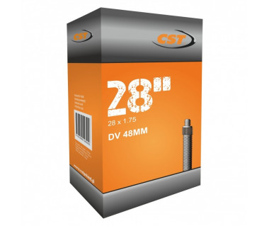 Dętka CST TB-CS094 w:row.48mm r:28x1.75(47-622)