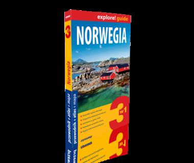 Norwegia 3 w 1 (przewodnik+atlas+mapa)
