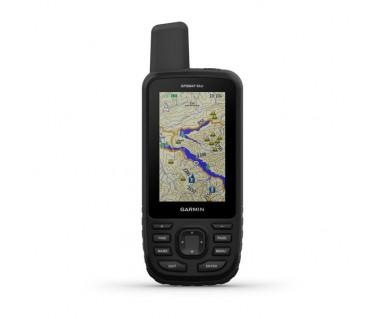Odbiornik GPS MAP 66 ST TopoActive Europe
