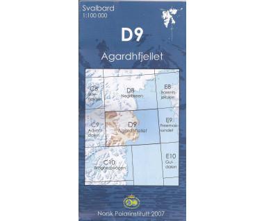 Svalbard D9 Agardhfjellet