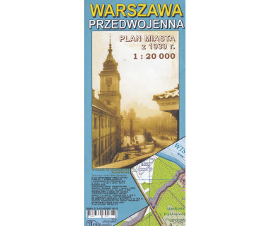 Warszawa przedwojenna reedycja z 1939r.