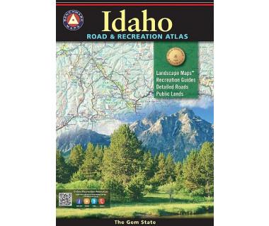 Idaho Road & Recreation Atlas