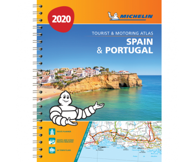 Spain & Portugal Tourist and Motoring Atlas