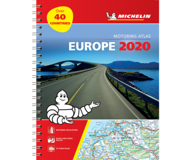 Europe Motoring Atlas