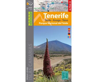 Tenerife - Parque Nacional del Teide (4 maps)