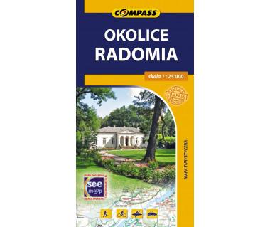 Okolice Radomia - Mapa