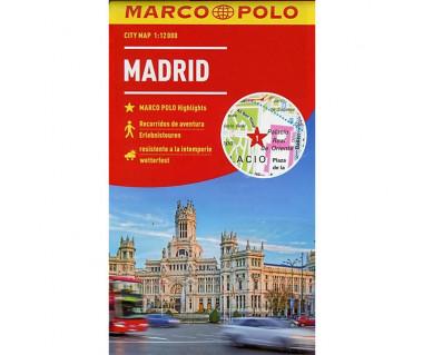 Madrid city map