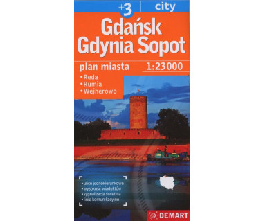 Gdańsk, Gdynia, Sopot (plus3) Reda, Rumia, Wejherowo
