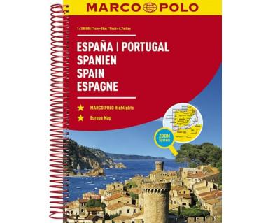 Spain, Portugal atlas