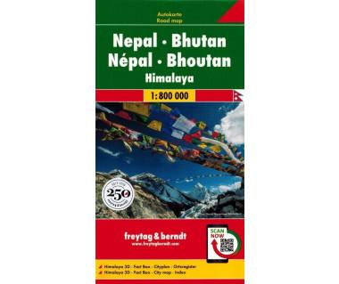 Nepal, Bhutan, Himalaya
