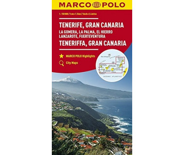 Tenerife, Gran Canaria (La Gomera, La Palma, El Hierro, Lanzarote, Fuerteventura)