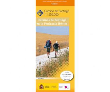 Caminos de Santiago en la Peninsula Iberica