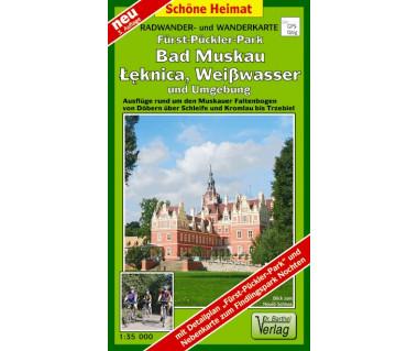 Fürst-Pückler-Park, Bad Muskau, Łęknica, Weißwasser und Umgebung