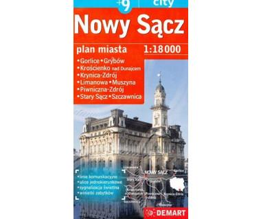 Nowy Sącz (plus9) Gorlice, Grybów, Krościenko, Krynica-Zdrój, Limanowa, Muszyna, Piwniczna-Zdrój, Stary Sącz, Szczawnica