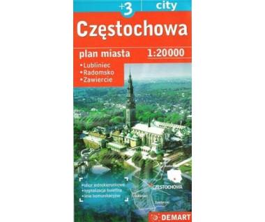 Częstochowa (plus 3) Lubliniec, Radomsko, Zawiercie