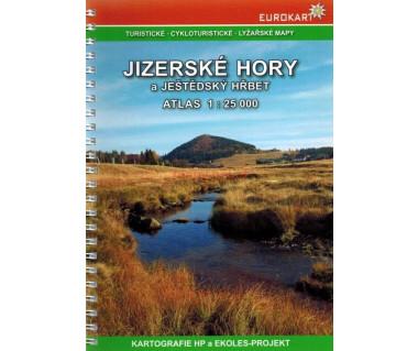 Jizerske Hory a Jestedsky Hrbet atlas turystyczny