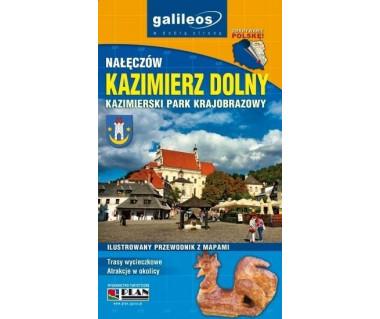 Kazimierz Dolny ilustrowany przewodnik z mapami