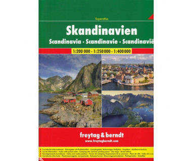 Skandinavien atlas