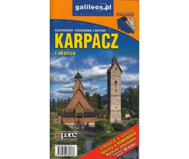 Karpacz i okolice ilustrowany przewodnik z mapami