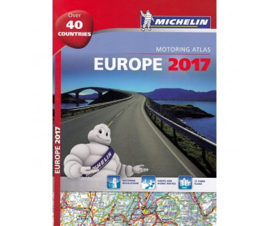 Europe Motoring Atlas (spirala)