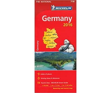 Germany - Mapa