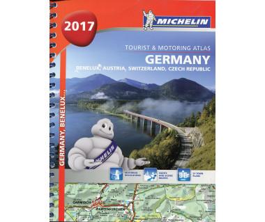 Germany, Benelux, Austria, Switzerland, Czech Republic atlas