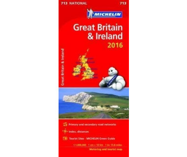 Great Britain & Ireland - Mapa