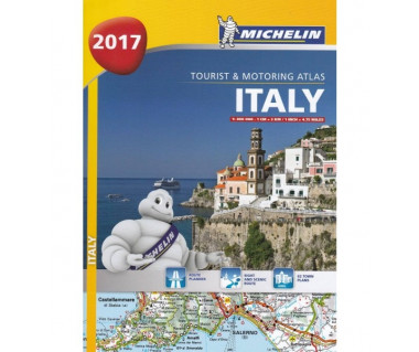 Italy Tourist and Motoring Atlas (spirala)