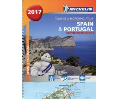 Spain & Portugal Tourist and Motoring Atlas (spirala)