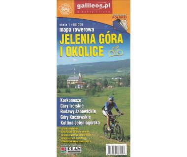 Jelenia Góra i okolice mapa rowerowa