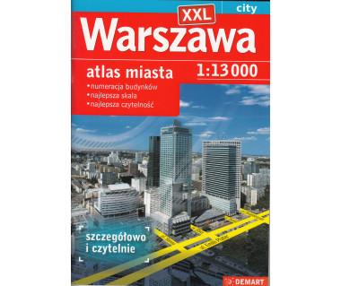 Warszawa atlas miasta XXL