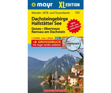 WM 550 Dachsteingebirge, Hallstatter See XL